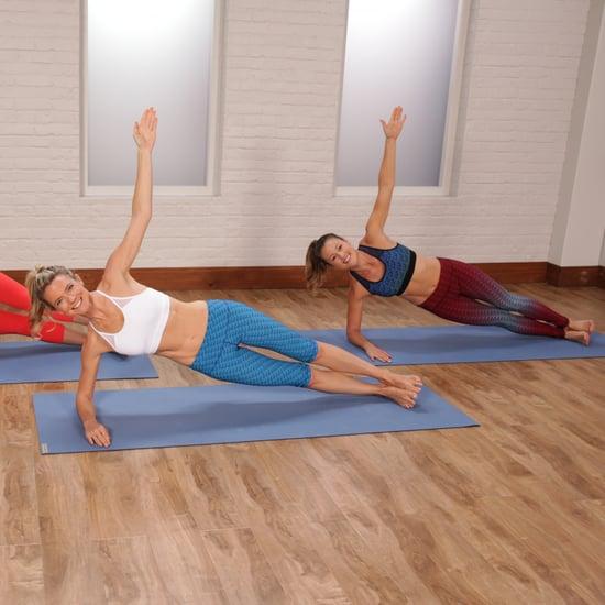 10 minute resistance band workout video popsugar fitness. Black Bedroom Furniture Sets. Home Design Ideas