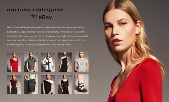 Online Sale Alert! 20% Off Narciso Rodriguez eBay Collection