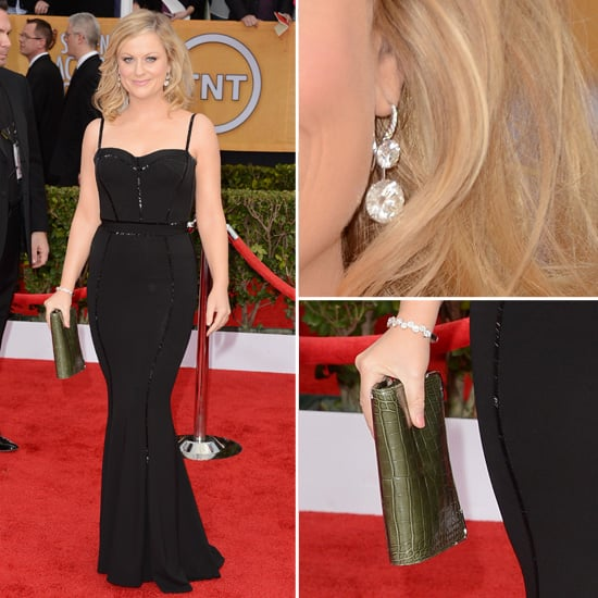 Amy Poehler: SAG Awards Red Carpet Dresses 2013