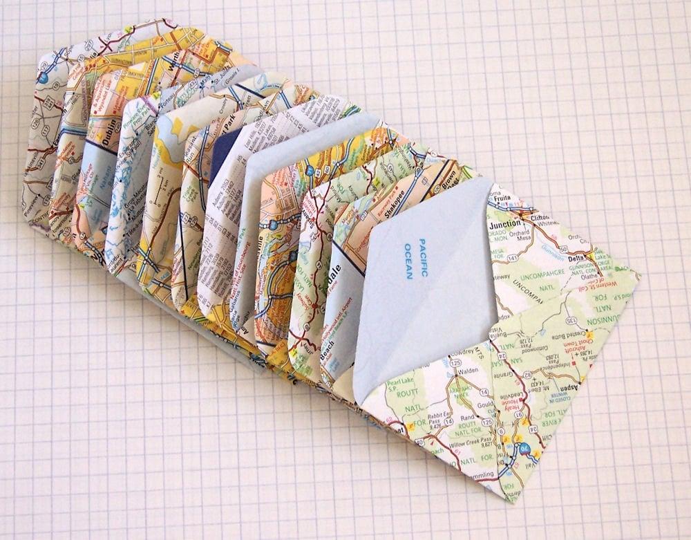 Map Mini-Envelope