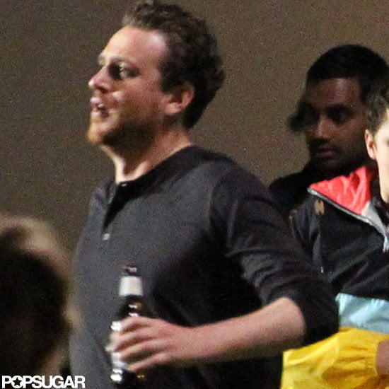 Jason Segel filmed a party scene on the set of The End of the World in New Orleans.