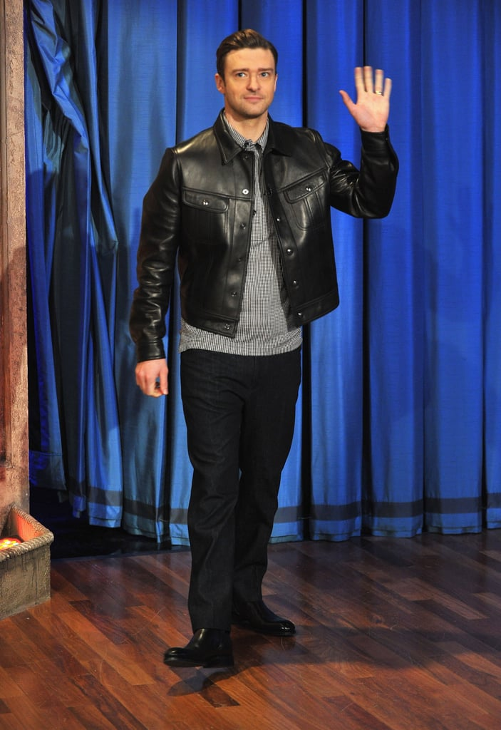 Justin Timberlake made an appearance on Late Night With Jimmy Fallon.