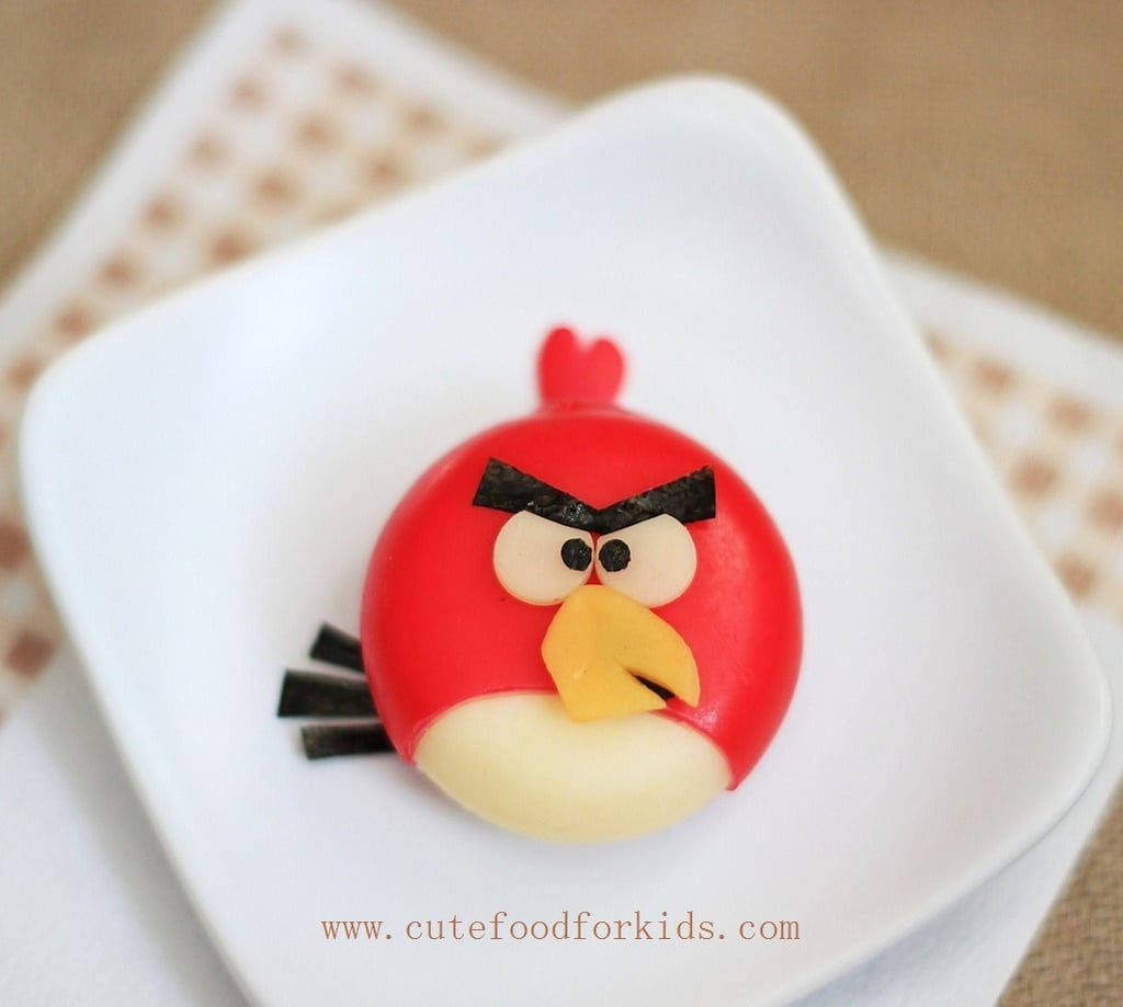 Babybel Angry Birds