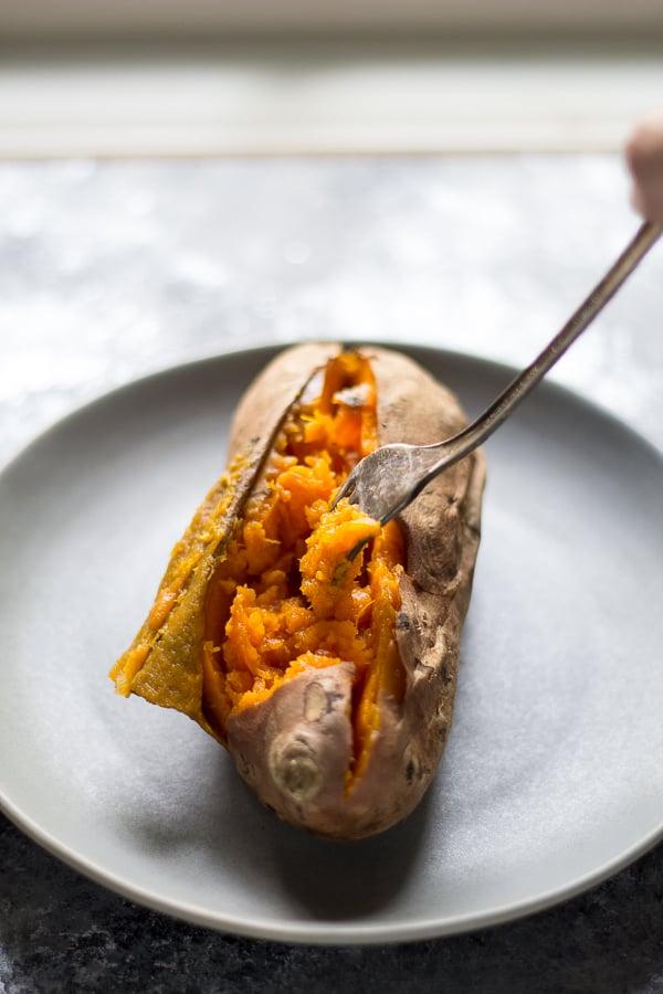 Slow-Cooker Baked Sweet Potatoes
