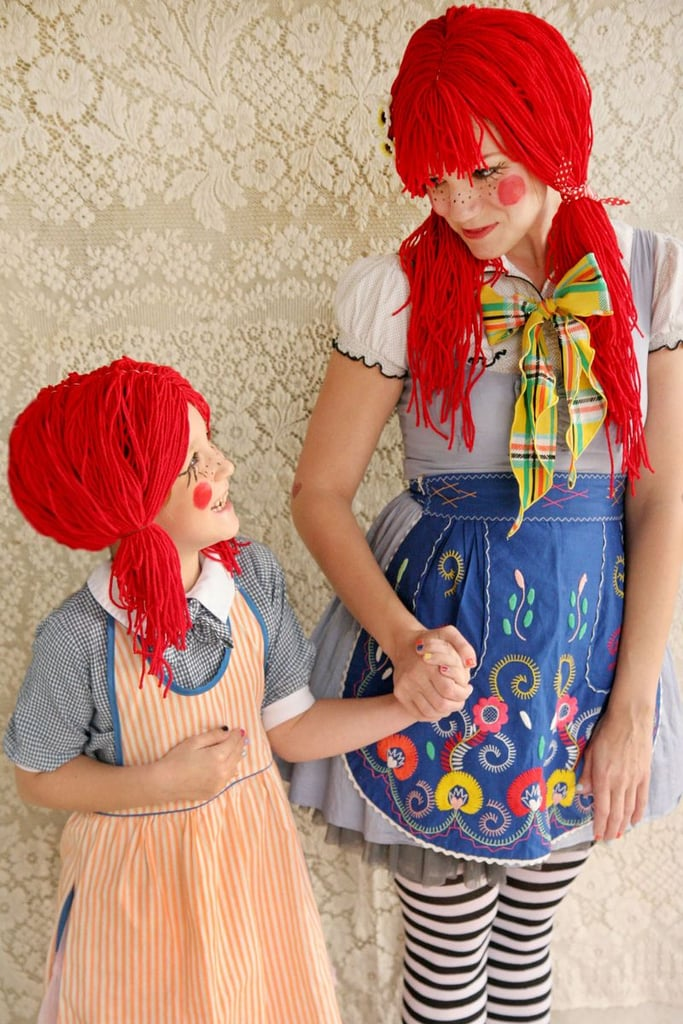 Mommy and Me Rag Doll Costumes