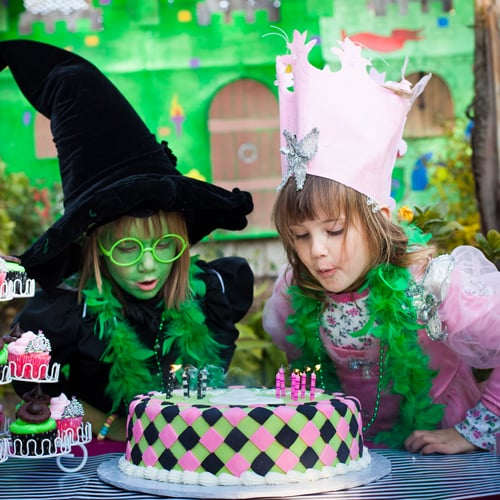 Wicked Inspired Birthday Party For Twin Girls
