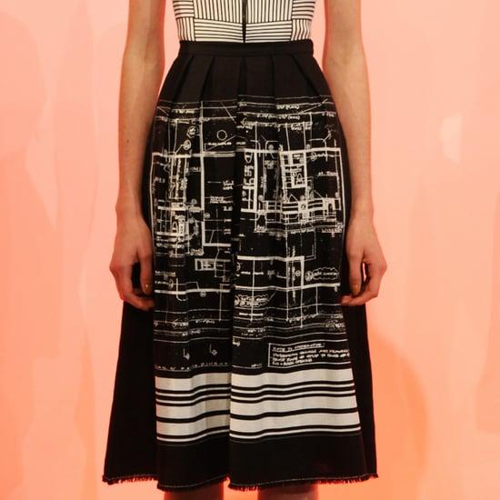 Clover Canyon Blueprint Skirt | Shopping