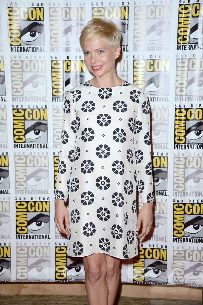 Michelle Williams attended Comic-Con.