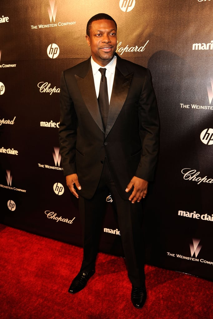 Chris Tucker at the Weinstein Company's after party.