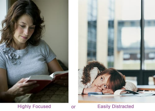 Are You Highly Focused or Easily Distracted?
