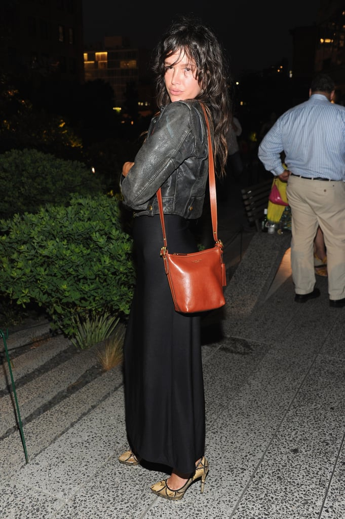 Paz de la Huerta was in attendance at Coach's Summer Party on the High Line in NYC.