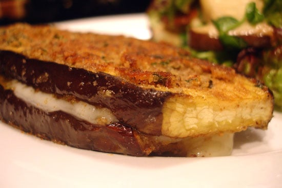 Eggplant Grilled Cheese