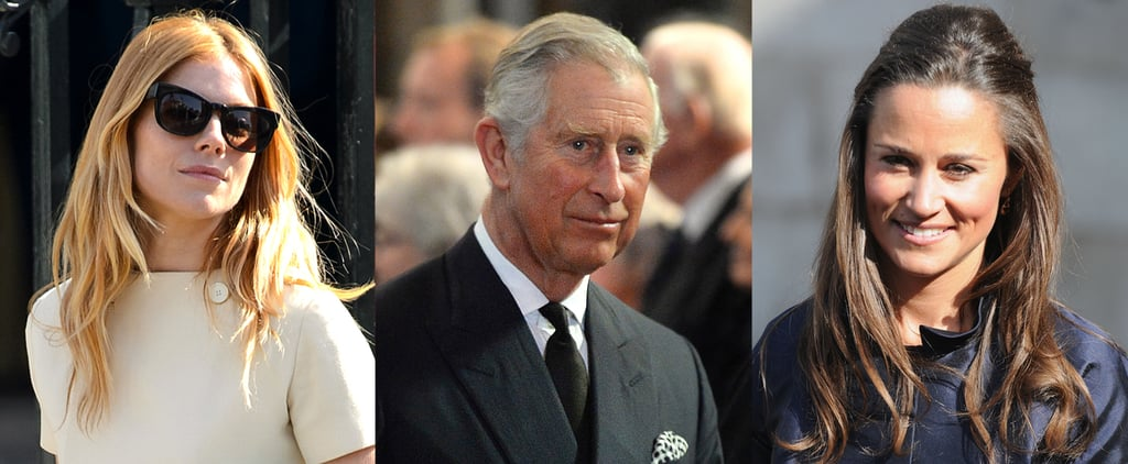 Which Legendary Figure Brought So Many High-Profile Brits Together Today?