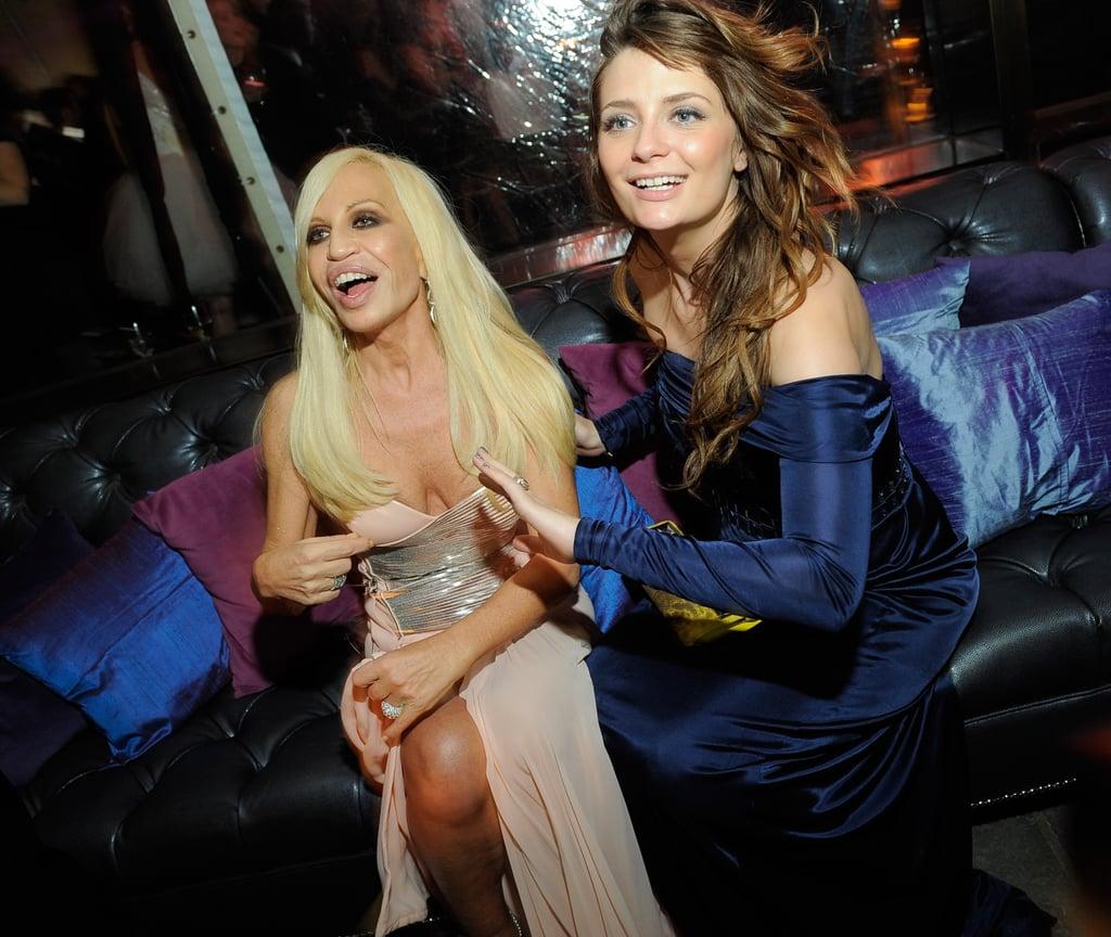 Donatella Versace, Mischa Barton
