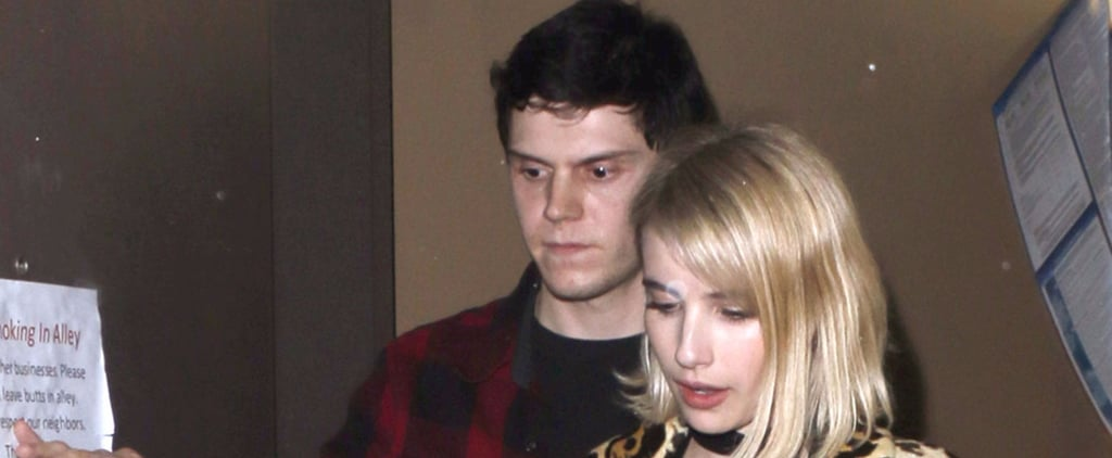 Emma Roberts and Evan Peters Have a Date Night in Beverly Hills