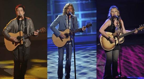 American Idol Recap of Top 3 Performances