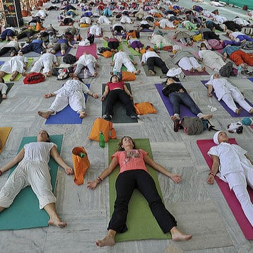 International Yoga Festival Pictures