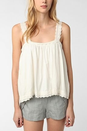 Thistlepearl Eyelet-Trim Tank Top ($44)