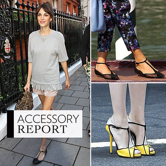 Celebrity Shoe Trend! T-Bar Heels, Wedges and Sandals Are the Best New Season Style To Buy Now: Shop Our Edit