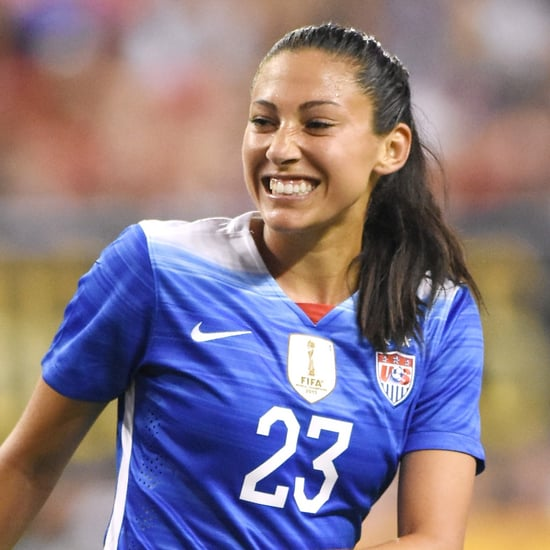 How Soccer Player Christen Press Handles Stress