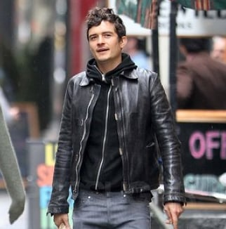 Orlando Bloom in NYC