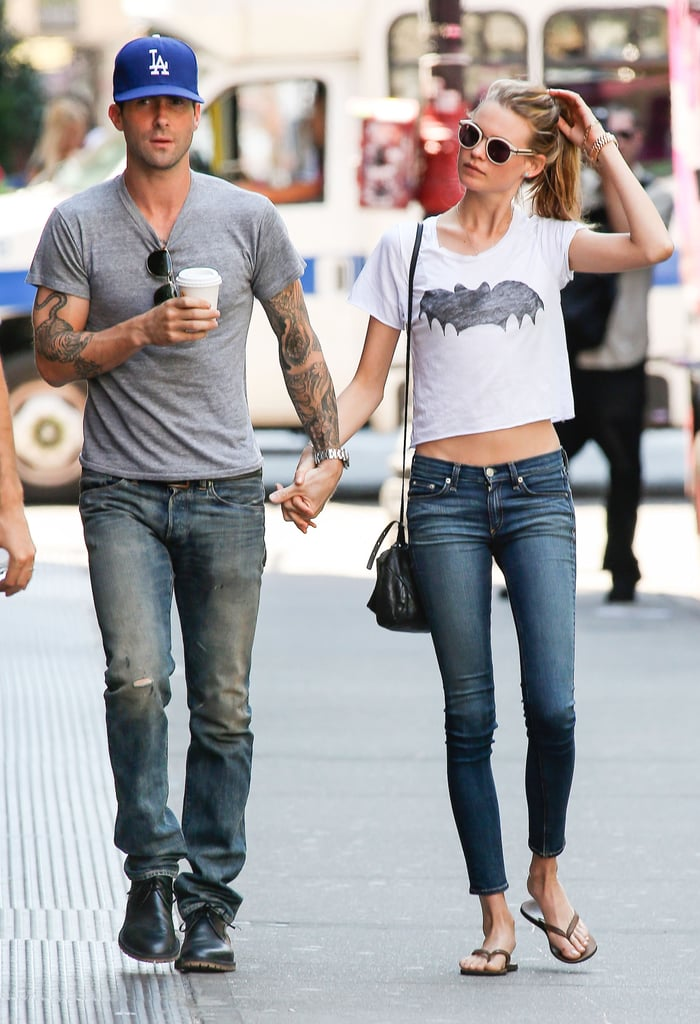 Love Nest Time? Adam Levine and Behati Prinsloo Check Out Real Estate in NYC