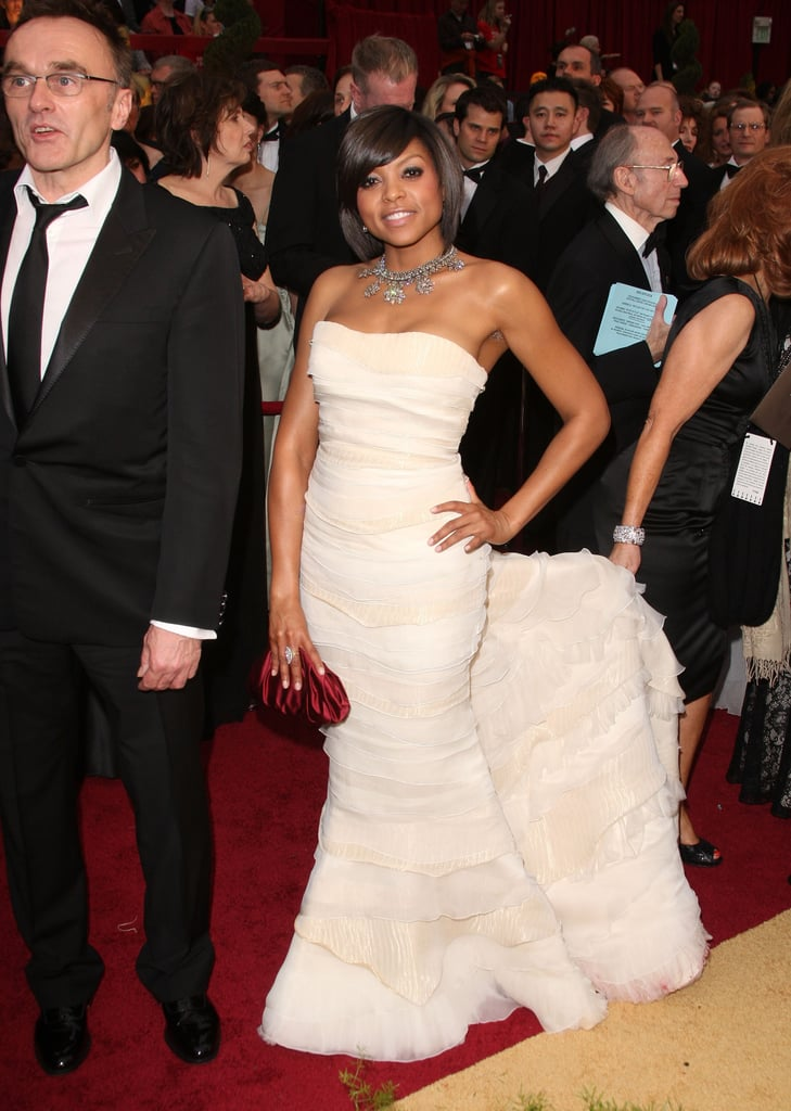 Taraji P. Henson in Roberto Cavalli at the 2009 Oscars