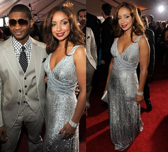 Mya and Usher at 2010 Grammy Awards 2010-01-31 17:21:45