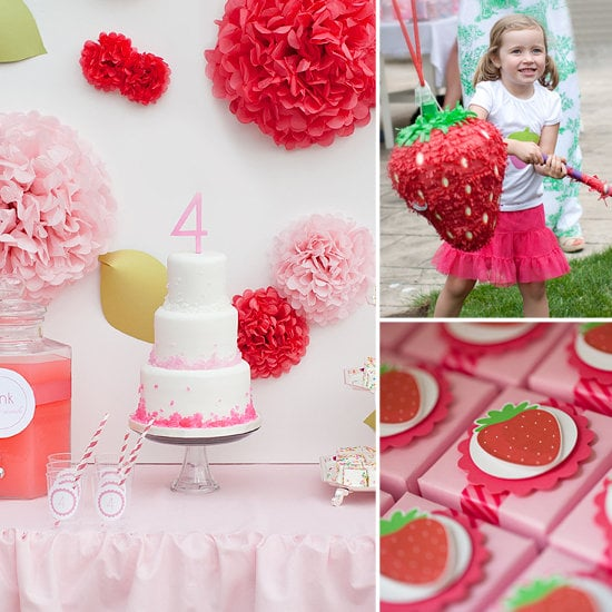 A Strawberry Shortcake Birthday Party