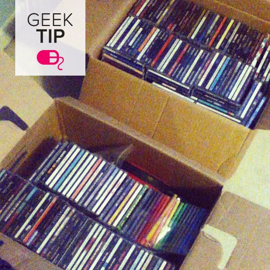 how to recycle cds dvds and jewel cases popsugar tech. Black Bedroom Furniture Sets. Home Design Ideas