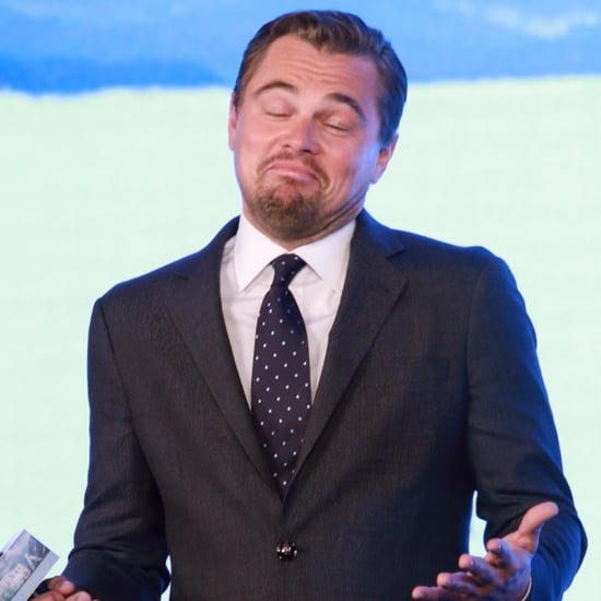 Leonardo DiCaprio at Revenant Press Conference March 2016
