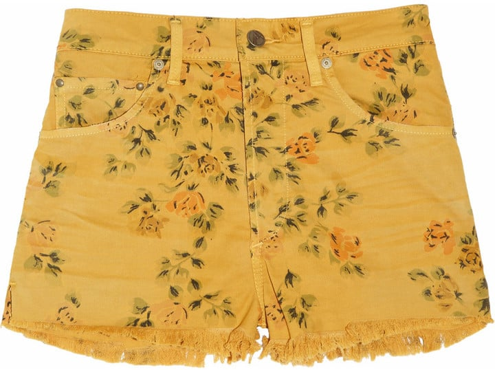 These floral cutoffs are begging to be taken on a vacation.  Citizens of Humanity Chloe Printed High-Rise Shorts ($175)