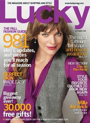 Win Milla Jovovich's Lucky Cover Look!