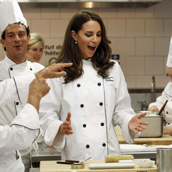 Kate Middleton and Prince William Chef Outfit Pictures