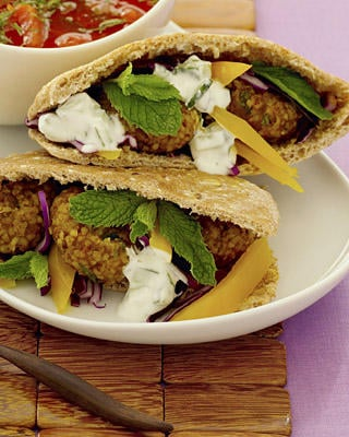 Beef and Bulgur Falafel Recipe
