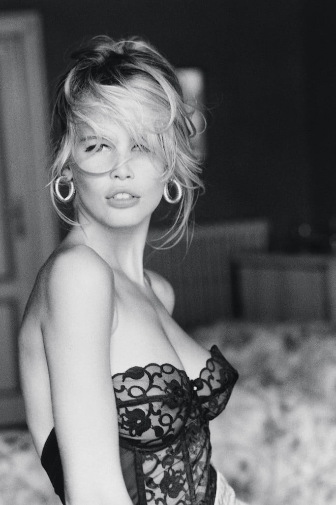 Claudia Schiffer for Guess 1989