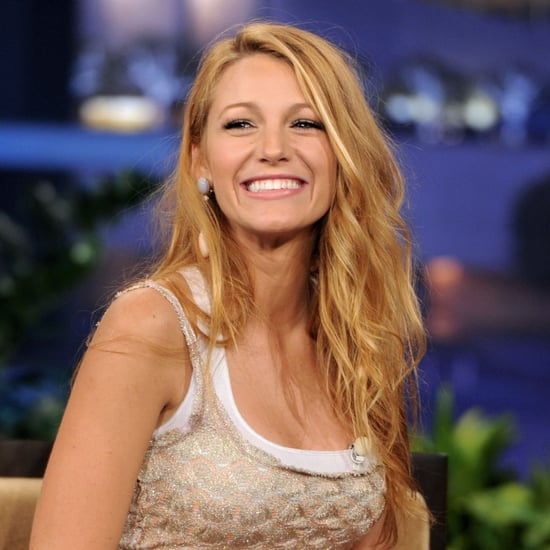 Blake Lively Talks Green Lantern on The Tonight Show