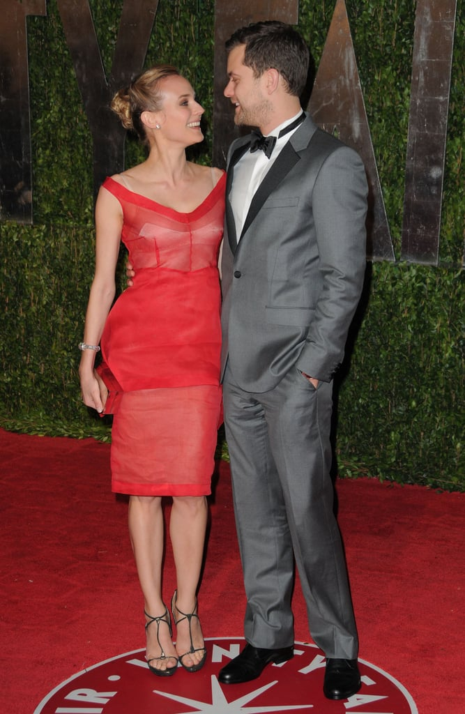 Joshua Jackson and Diane Kruger stared into each other's eyes at the Vanity Fair Oscar party in March 2010.