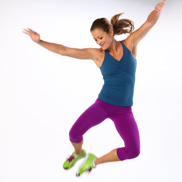 How to Do a Heel-Click Jump | POPSUGAR Fitness
