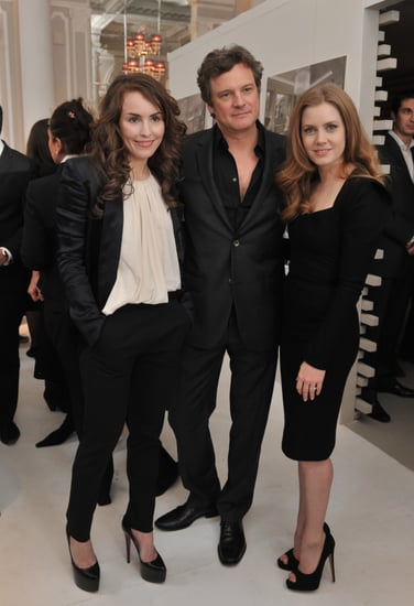 Pictures of Colin Firth, Amy Adams, Noomi Rapace, Jesse Eisenberg and More at BAFTA Nominees Party in London