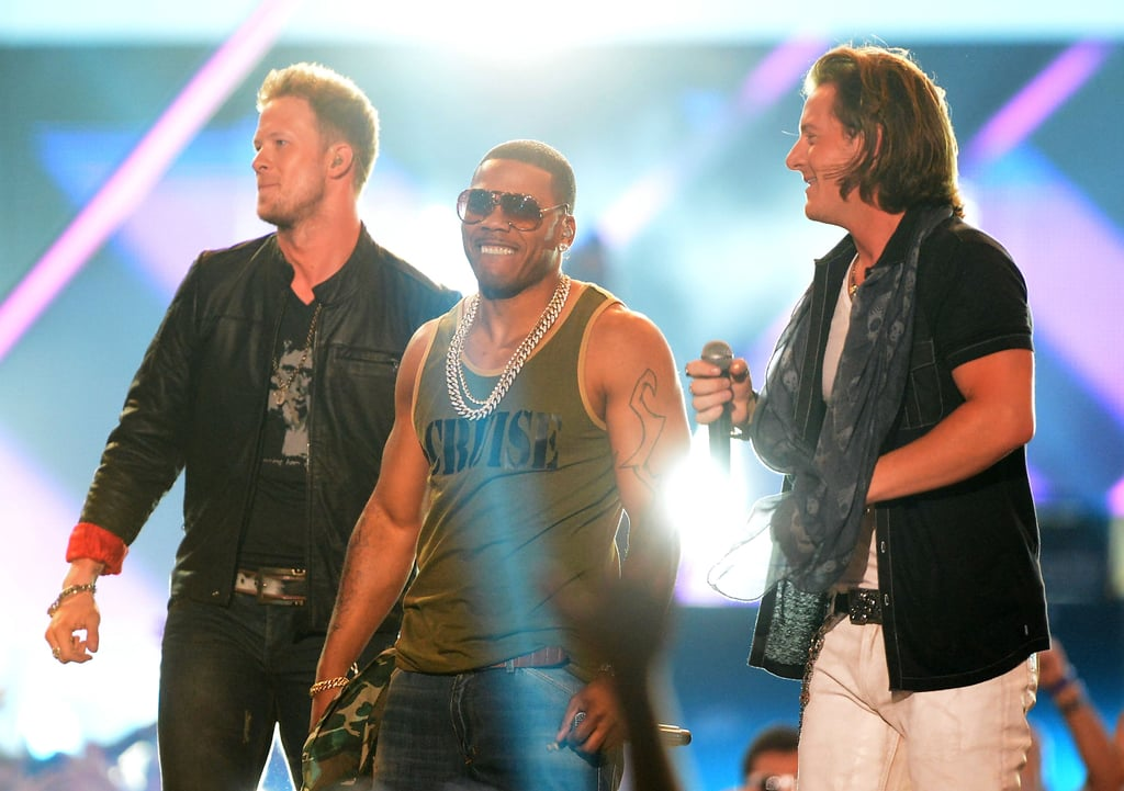 Nelly performed with Florida Georgia Line.
