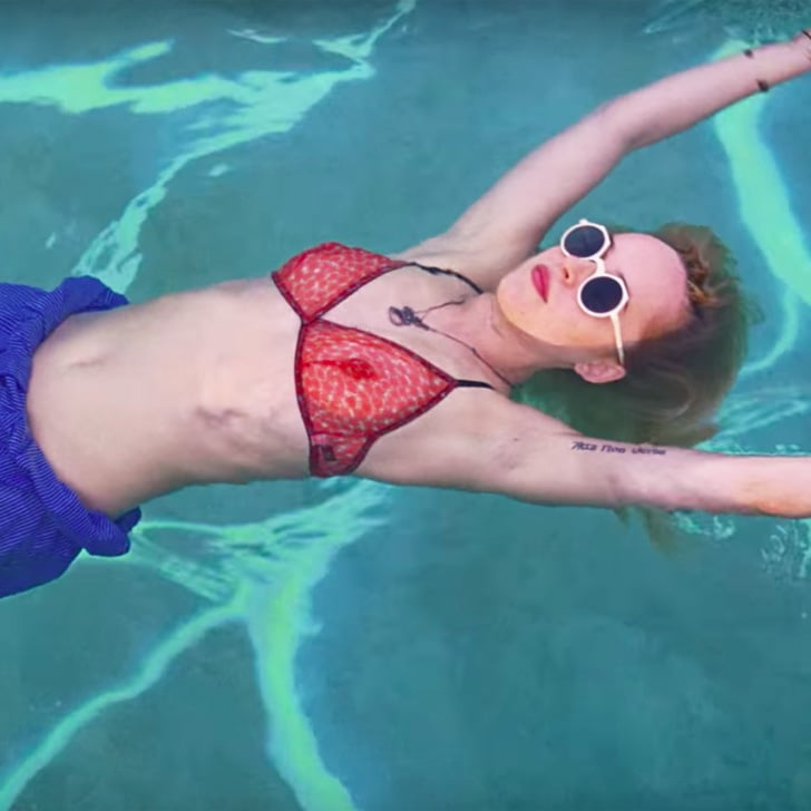 A bigger splash trailer popsugar entertainment for Film a bigger splash
