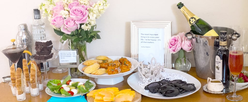 Channel Your Inner Audrey Hepburn With This Cocktail Spread