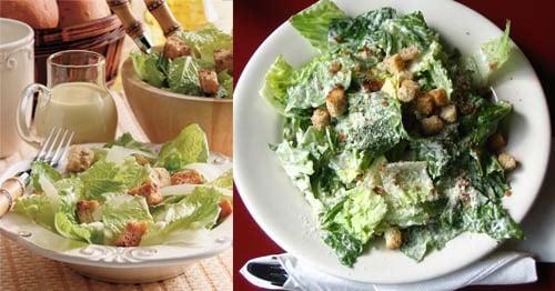 Caesar Salad Two Ways - Beginner & Expert