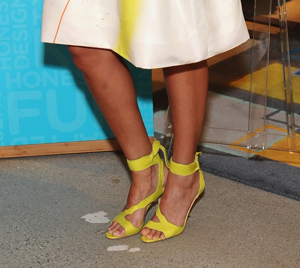 The heels may have been low, but they did not short on the sassy factor.