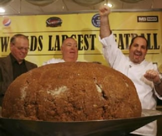 New Hampshire Restaurant Sets New Guinness World Record For Largest Meatball