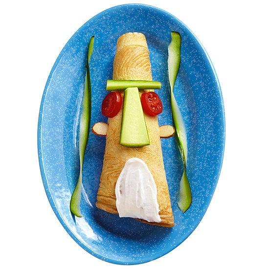 Sponge Bob Tiki Head Crepes