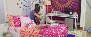 Here's How to Create a Photo-Worthy Dorm Room