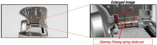 Safety Notice: PowerShot A530/A540 Overheats