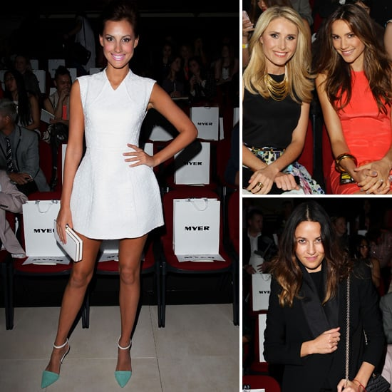 Check Out the Front Row Celebrities at MBFF Sydney